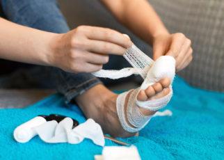 Szybsze leczenie zespołu stopy cukrzycowej z użyciem tlenku azotu