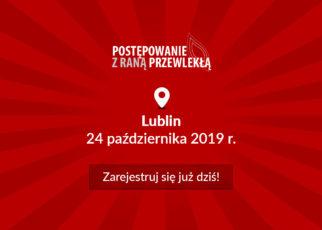 Zarejestruj się na bezpłatną konferencję o leczeniu ran w Lublinie!