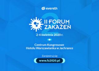 Już dziś zarejestruj się na II Forum Zakażeń!
