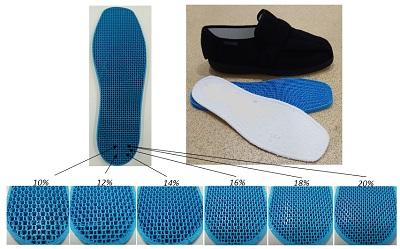 Naukowcy opracowali wkładki do butów z nadrukiem 3D