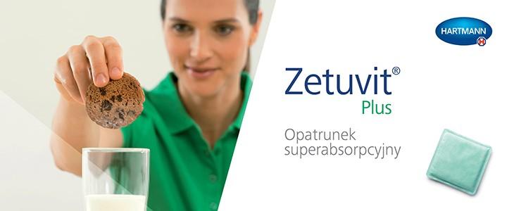 Zetuvit® Plus – opatrunek na rany z wysiękiem