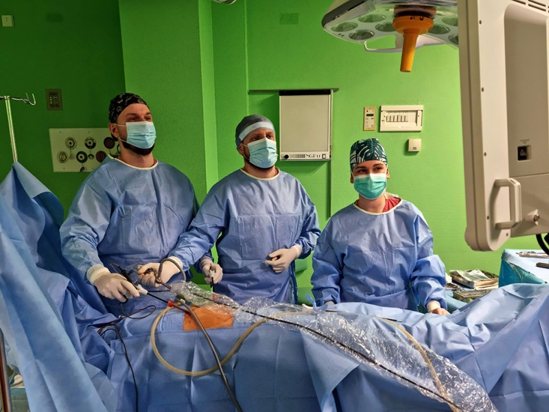 Innowacyjna operacja w Szpitalu w Olsztynie