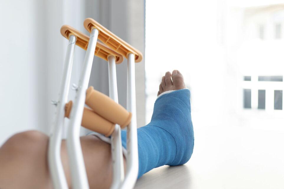 Złamanie kostki bocznej - operacja i działania pooperacyjne